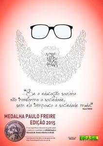 AF-Cartaz - Medalha Paulo Freire